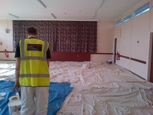 office decorators nottingham